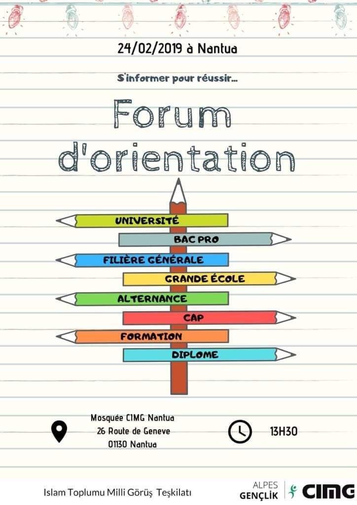 Forum orientation 2019