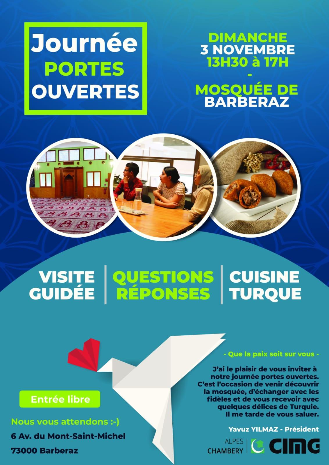 Açık cami günü Chambéry